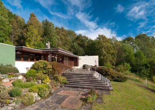 Loch Tummel House in Strathtummel, Pitlochry, Scotland
