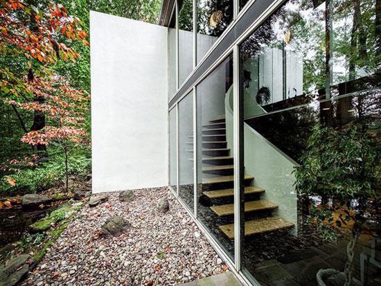 1960s Richard Neutra-designed Pitcairn House in Huntingdon Valley, Pennsylvania