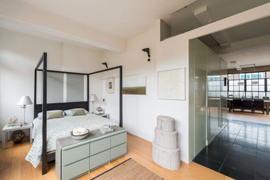 Factory conversion: Eva Jiricna-designed apartment in London NW8