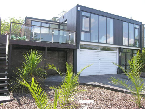On the market: 1960s-designed three-bedroomed house in Plymouth, Devon