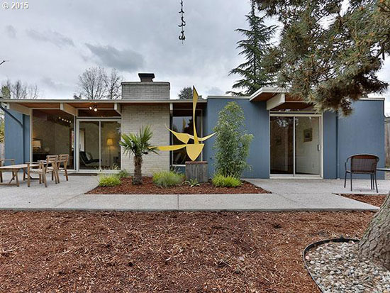 On the market: 1960s Robert Rummer-designed midcentury property in Portland, Oregon, USA