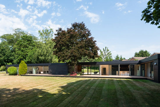 On the market: 1950s single-storey modernist property in Stoke Poges, Buckinghamshire