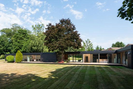 On the market: 1950s single-storey modernist property in Stoke Poges, Buckinghamshire