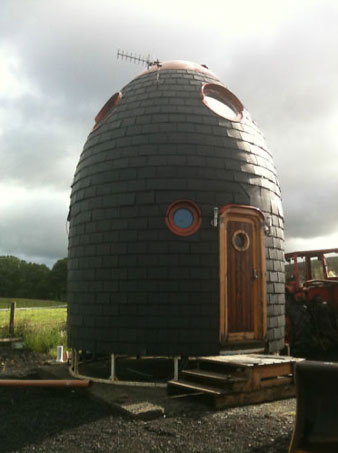 Buy a two-storey Eco Pod house on eBay for £18,000