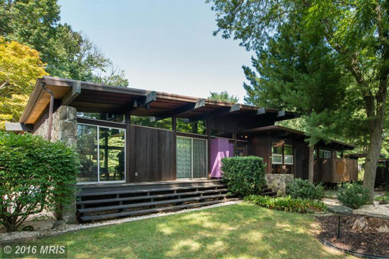 On the market: 1960s Poldi Hirsch-designed midcentury property in Havre de Grace, Maryland, USA