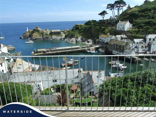 Killer views: Four-bedroomed detached house in Polperro, Near Looe, Cornwall