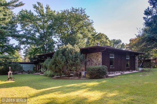 1960s Poldi Hirsch-designed midcentury property in Havre de Grace, Maryland, USA