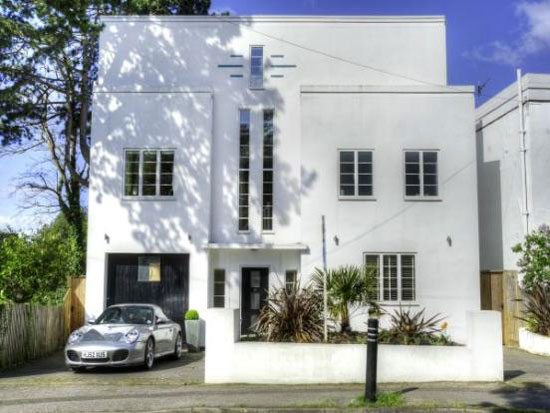 On the market: Five bedroom 1930s art deco property in Poole, Dorset