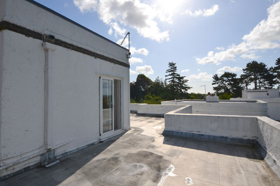 1930s art deco renovation project in Poole, Dorset