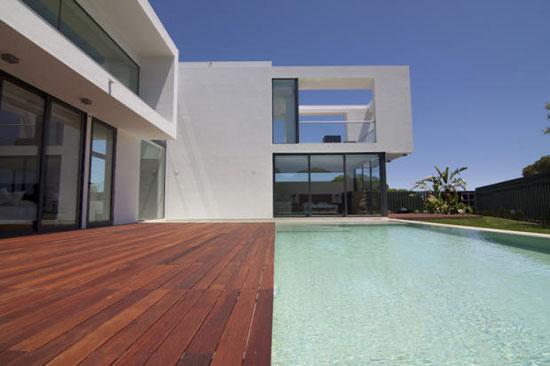 Vasco Vieira-designed four-bedroom modernist property in Vale do Lobo, Portugal