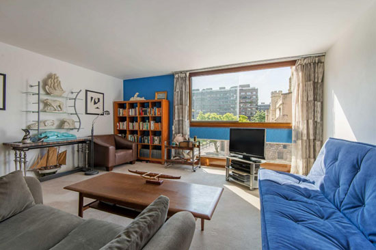 Barbican living: House in The Postern on the Barbican Estate, London EC2Y