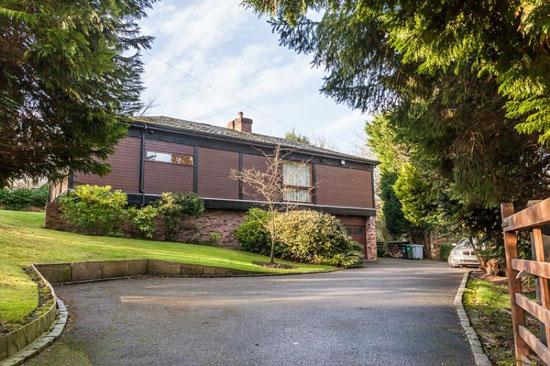 Midcentury-style property in Prestbury, Cheshire