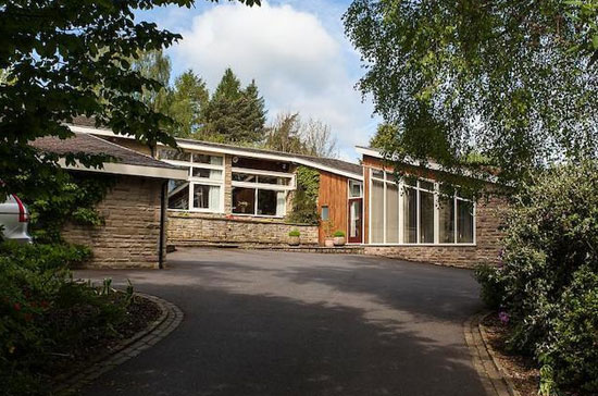 1970s George Hayes-designed Silver Birches property in Prestbury, Cheshire