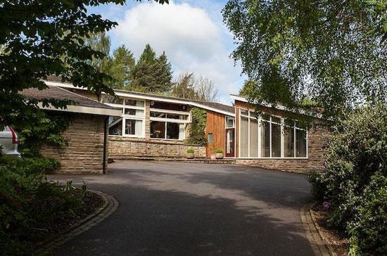 1970s George Hayes-designed Silver Birches property in Prestbury, Cheshire