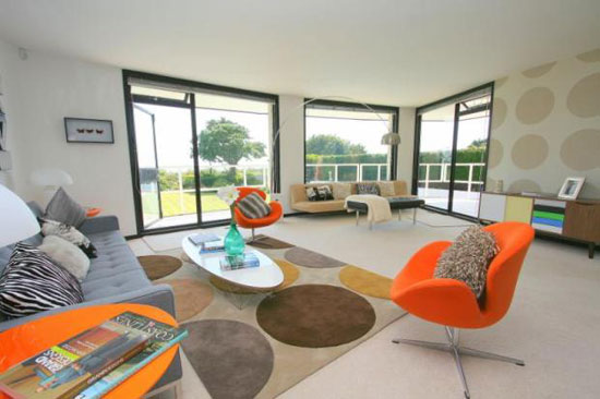 1960s grade II-listed Vista Point property by Patrick Gwynne in Angmering, West Sussex