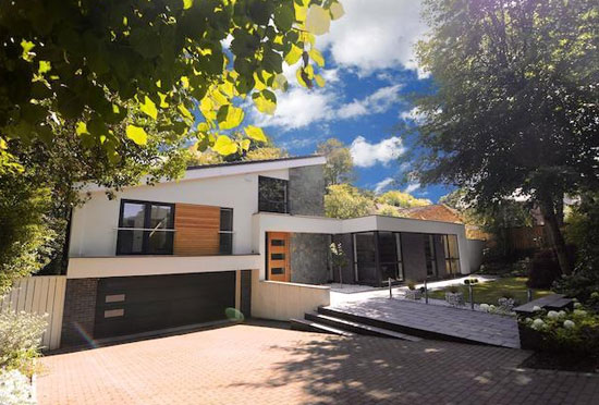 Four-bedroom contemporary modernist property in Prestwich, Manchester