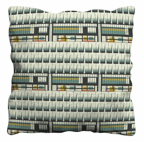 17. Architecture-inspired cushions by Gail Myerscough