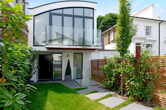 Four-bedroom contemporary modernist property in South Hampstead, London NW6