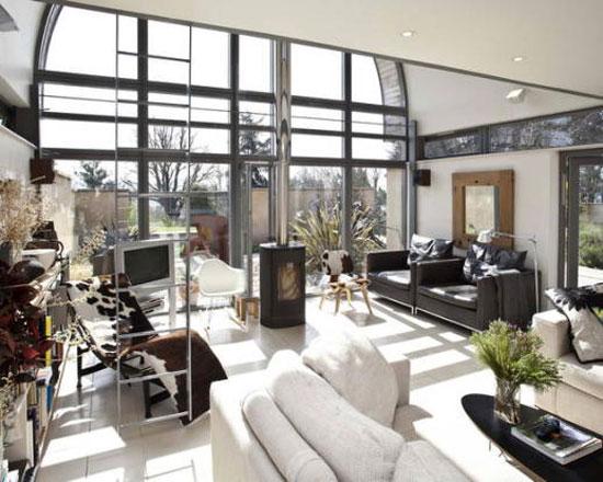 Five-bedroom Manor Farm eco-home in Pulborough, West Sussex
