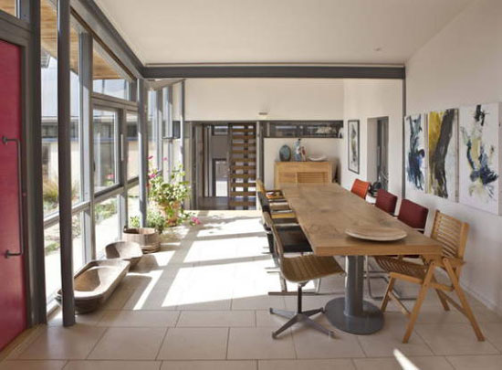 Five-bedroom Manor Farm eco-home in Pulborough, West Sussex