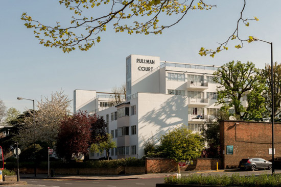 On the market: Two-bedroom apartment in the 1930s Frederick Gibberd-designed Pullman Court, London, SW2
