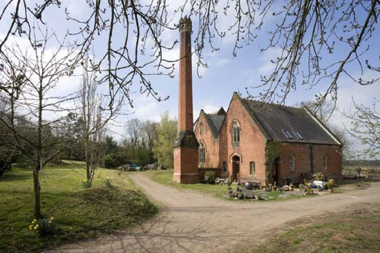 19th century converted Victorian pump house in Snarestone, Derbyshire