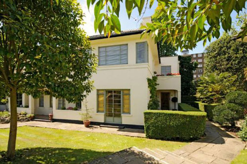 1930s art deco maisonette in Putney, London SW15