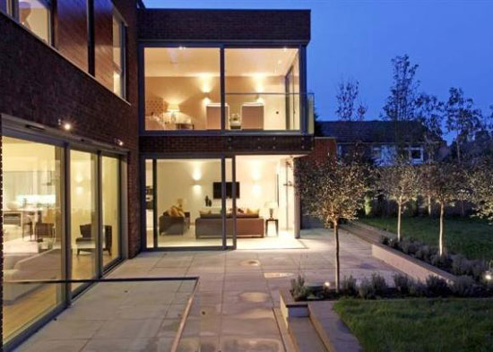On the market: Modernist-inspired seven bedroom house in Putney, London SW15