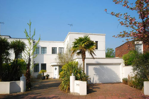 1930s art deco property on Putney Heath, London SW15