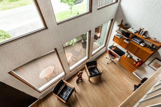 1960s Marc Belanger modernist house in Monteregie, Quebec, Canada