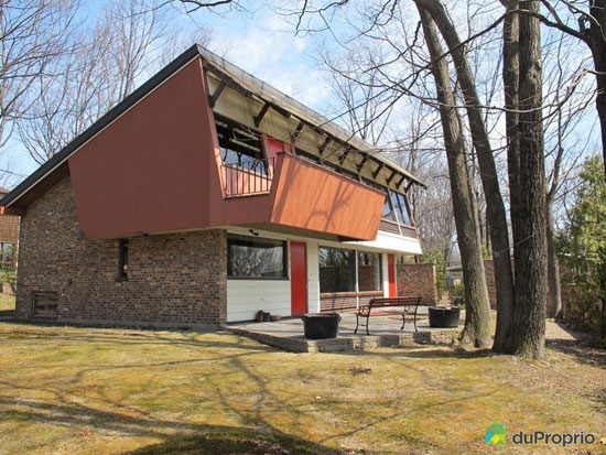 1960s Jean-Marie Roy-designed property in Quebec City, Canada