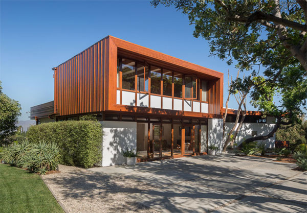 1940s Rodney Walker-designed Asher Residence in Sherman Oaks, California