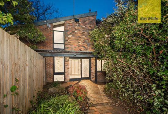 1960s midcentury modern property in Bayswater, Victoria, Australia