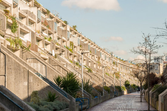 On the market: 1970s Neave Brown-designed brutalist apartment in Rowley Way, London NW8