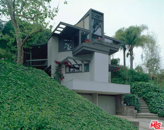 1950s R.M. Schindler-designed The Tischler Residence in  Los Angeles, California, USA
