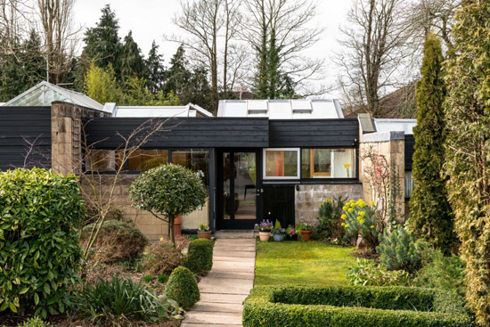 On the market: 1960s modernist house on the Cockaigne Housing Group development in Hatfield, Hertfordshire