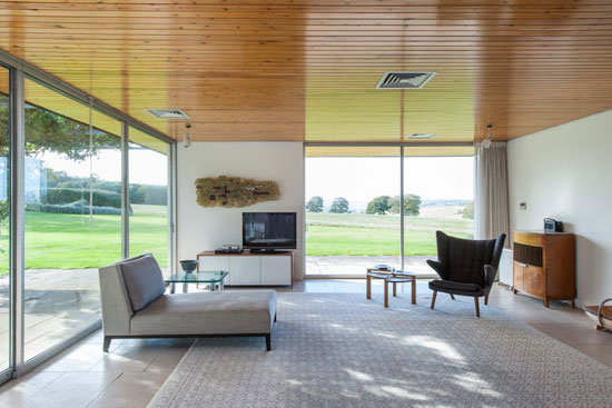 1960s John Schwerdt-designed grade II-listed modernist property in Rye, East Sussex