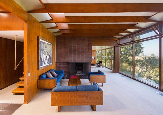 1940s Rodney Walker-designed Asher Residence in Sherman Oaks, California