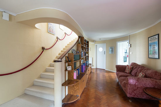 Oliver Hill-designed The Round House art deco property in Frinton-on-Sea, Essex