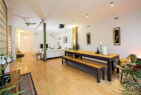 Apartment in the former Guinness bottling factory in Rugby, Warwickshire