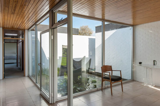 1960s John Schwerdt-designed grade II-listed modernist property in Rye, East Sussex