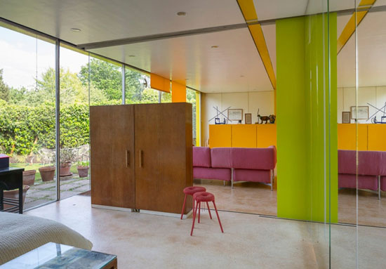 1960s grade II-listed Richard and Su Rogers-designed Rogers House modernist property in London SW19 © Tim Crocker
