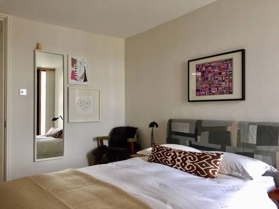 Airbnb find: 1970s Neave Brown-designed brutalist apartment in Rowley Way, London NW8