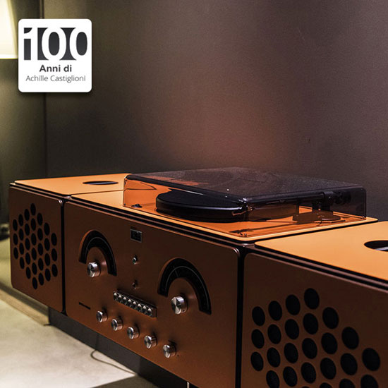1960s Brionvega Radiofonografo record player back as a limited edition