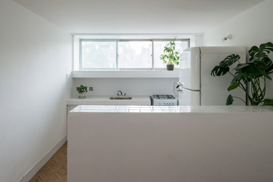 Neave Brown apartment in Rowley Way, London NW8