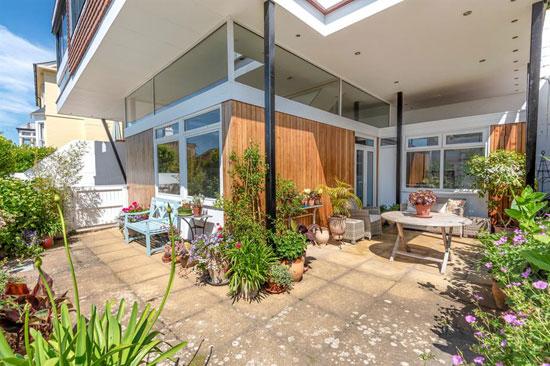 1960s John Floydd midcentury modern house in Sandgate, Kent