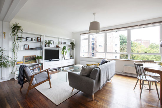 1950s apartment in Austin Vernon's Raleigh Court, London SE19