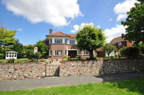 On the market: The Pantiles 1930s four-bedroomed detached house in Ramsgate, Kent – with underground bomb shelter