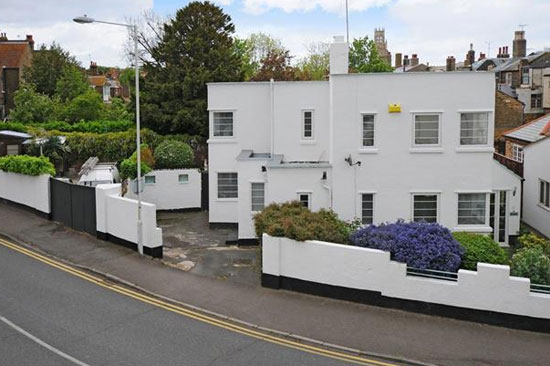 On the market: Three-bedroom 1930s art deco property in Ramsgate, Kent