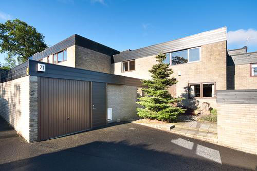 On the market: 1960s Roland Wedgwood-designed five bedroomed house in Ravelston, Edinburgh